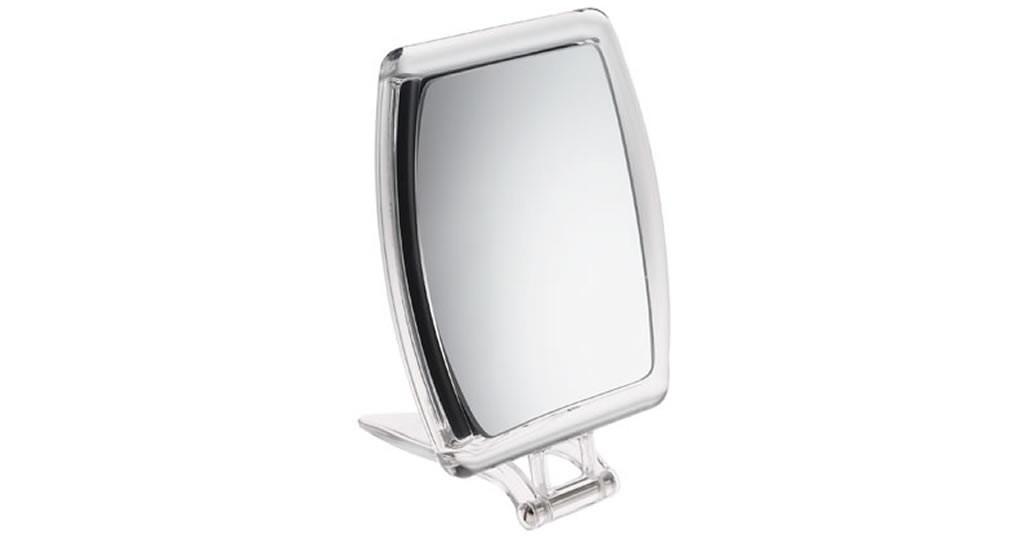 Miroir grossissant x10 pliable format portrait