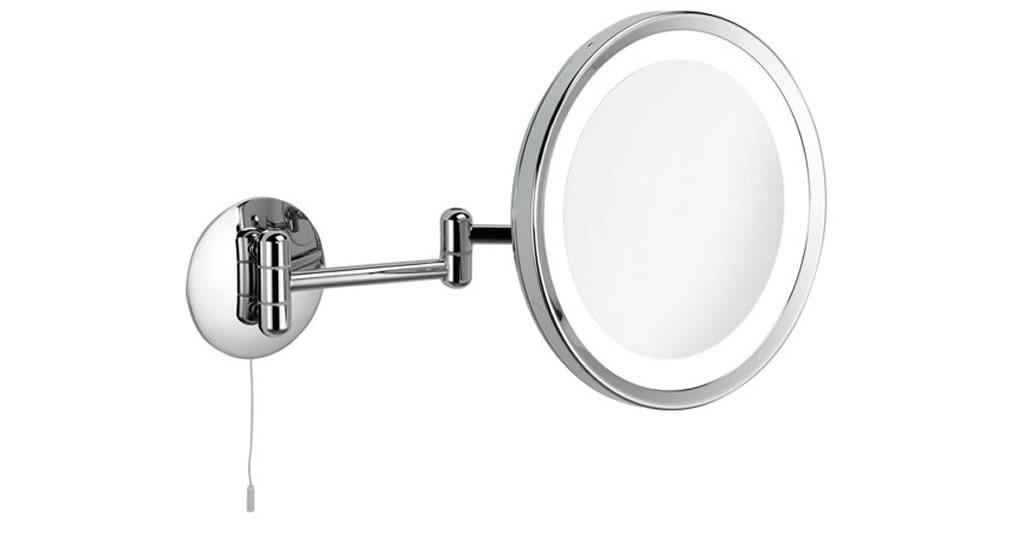 Miroir grossissant PRO x3 mural LED rond 24cm retrait DIRECT OPTIC NANTES