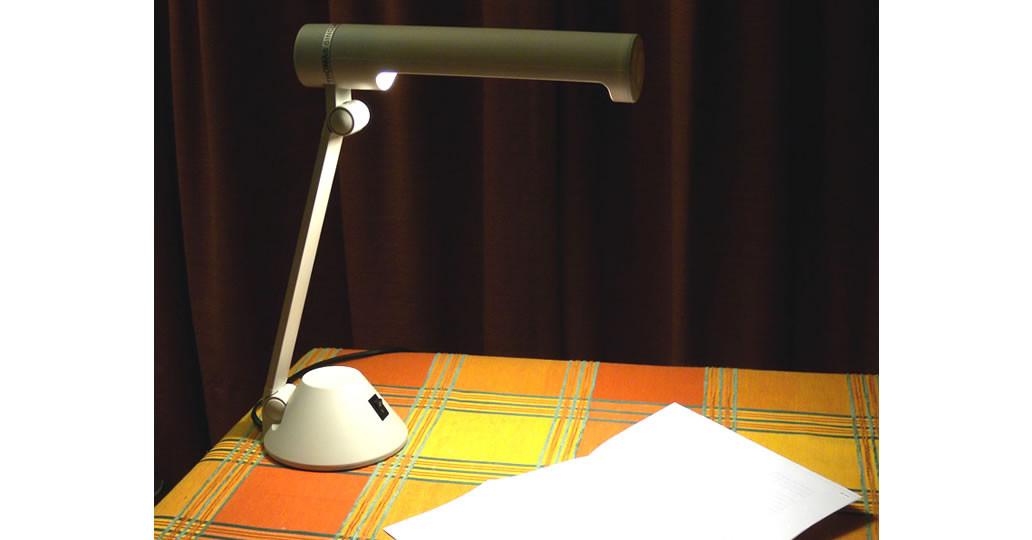 Lampe lecture 11W 1500 lux liseuse compacte