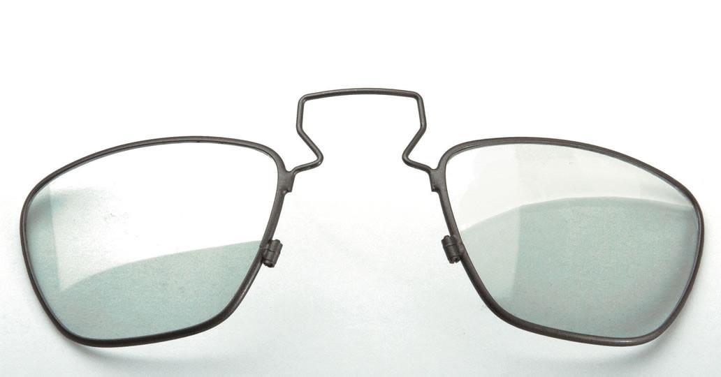 Clip pour verres de vue sur loupe HR et HRP Heine