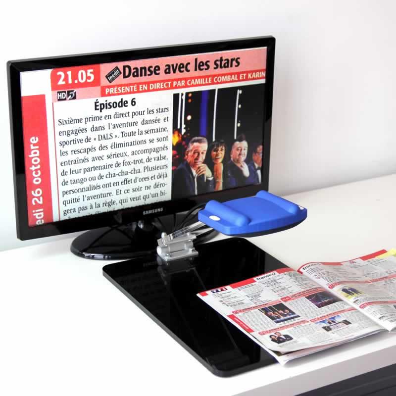 Location 1 mois - Téléagrandisseur Froggyloupe Full HD avec écran 60 cm mat