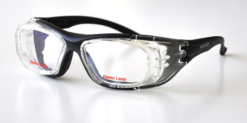 Lunettes Protection Essilor FLEX 110T noir ergonomique