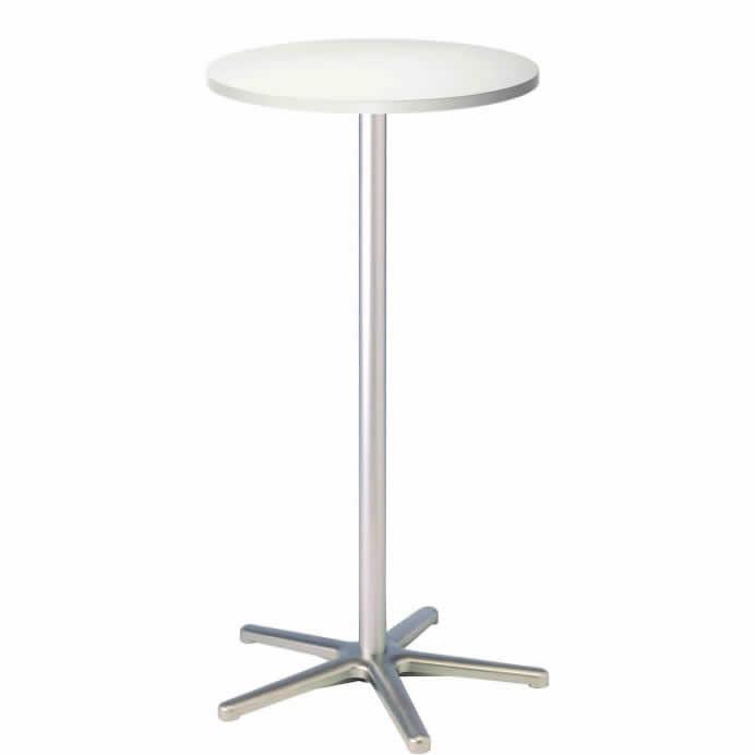 Table haute finition Blanc