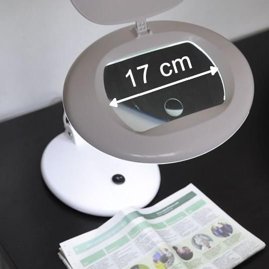 Lampe loupe LED basse vision retrait DIRECT OPTIC NANTES
