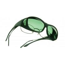 Sur lunettes polarisantes Gris L