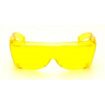 Sur lunettes jaunes