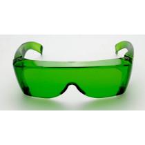 Sur lunettes vert protection UV visible et infrarouge