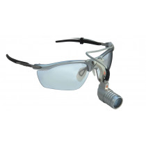 Système d'éclairage Microlight HEINE sur S-Frame - Lampe frontale ultra-légère