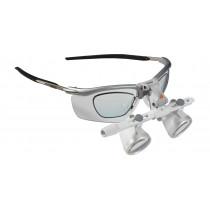 Loupes binoculaires HEINE HR 2,5x avec support pivotant I-View sur S-Frame