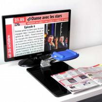Téléagrandisseur Froggyloupe Full HD avec écran 60 cm - Rétina