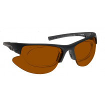 Lunettes protection TSLaserBGR pour pointeur laser modele lunettes avec clip