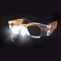 Lunettes prismatiques +6D éclairante avec batterie