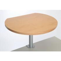 Table haute sur pince finition Bois