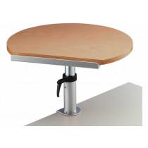 Table ergonomique Bois sur pince