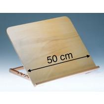 Pupitre pro bois large 50 cm