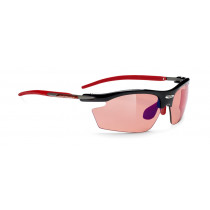Rudy Project Rydon Black Racing Red Lens