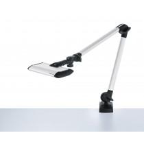 Lampe LED sur pince Waldmann TANEO réglable