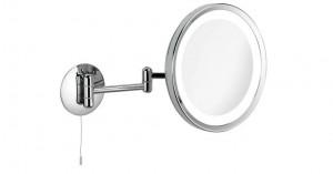 Miroir grossissant PRO x3 mural LED rond 24cm
