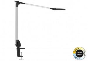 Lampe de bureau LED sur pince Oxford réglable Température et Intensité