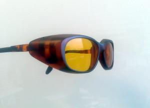 Montures lunettes a coque protection soleil et vent