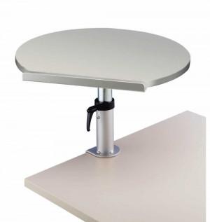 Table ergonomique Gris sur pince